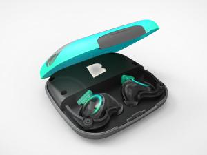 Le boitier des ecouteurs connectes bragi Dash