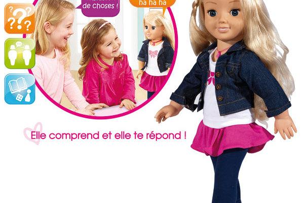 Cayla - poupée connectée - Connect4