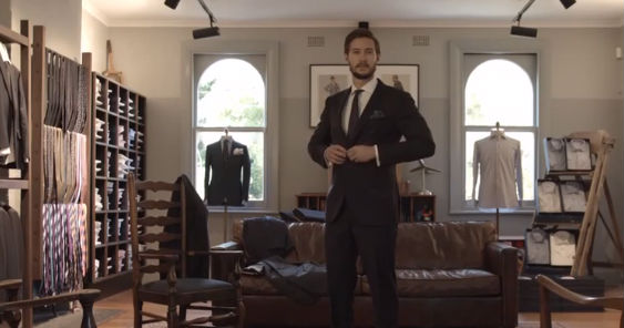 Power Suit costume connecté pour homme
