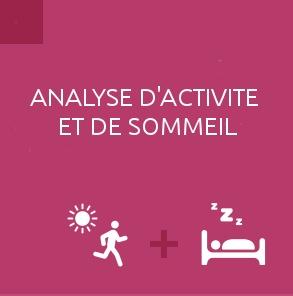 Mesure d'activité et de sommeil Fitbit