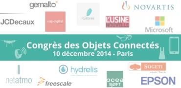 Congrès des objets connectés 2014
