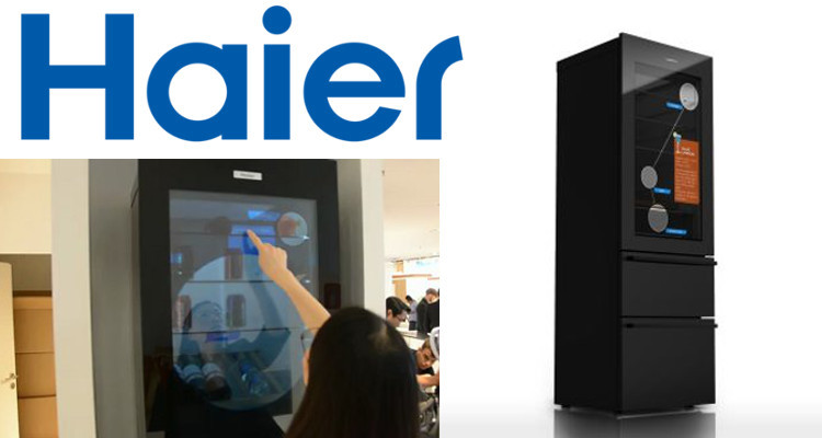 faites des conomies avec le frigo intelligent haier connect4. Black Bedroom Furniture Sets. Home Design Ideas