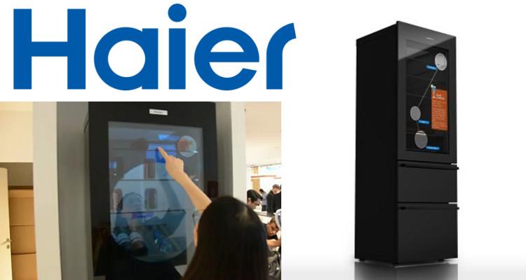 faites des conomies avec le frigo intelligent haier connect4. Black Bedroom Furniture Sets. Home Design Ideas