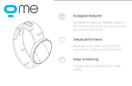 Geeksme smartwatch sextoy