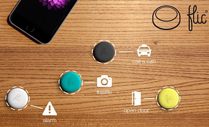 Cas d'utilisations bouton connecté Flic