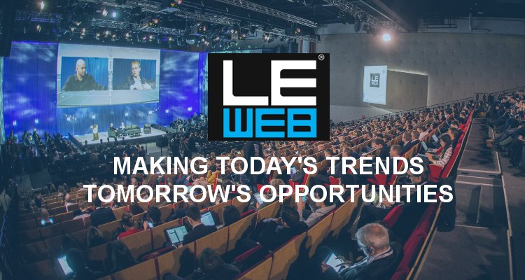 LeWeb salle de conférence